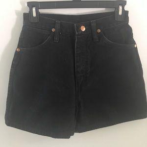 Vintage Wrangler High Waist Shorts Size 4